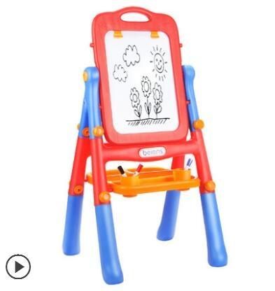 兒童畫板畫架雙面磁性寫字板