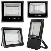 LED投光燈戶外防水燈200w廣告投射燈室外照明燈超亮工地燈探照燈 樂活生活館