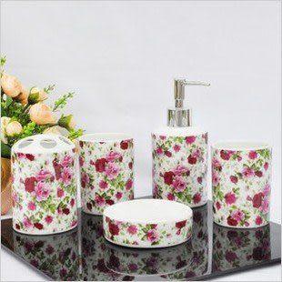 陶瓷洗漱衛浴五件套