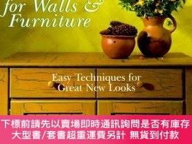 二手書博民逛書店Painted罕見Finishes For Walls & FurnitureY255174 Driggers