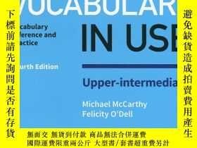 全新書博民逛書店EnglishVocabulary in Use Upper-I