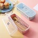 筷籠 筷子筒筷子籠筷子盒架桶塑料吸管勺子刀叉帶蓋瀝水托餐具收納家用【快速出貨八折鉅惠】
