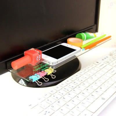 【全館5折】WaBao 電腦顯示器透明壓克力便利貼留言板 (透明右側款) =D05864=