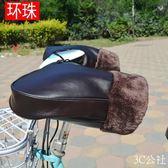 電動車手套冬季保暖加厚把手套電瓶車防風防水護把男女摩托車把套