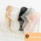 5雙 襪子女薄款絲襪純棉蕾絲襪短襪隱形底淺口短筒船襪【小獅子】