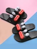 情侶拖鞋夏室內潮一男一女居家居浴室防滑軟底可愛塑料洗澡涼拖鞋 交換禮物