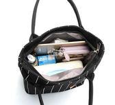 便當袋 手提包時尚女包帆布印花飯盒袋手拎包媽咪包簡約大包帶飯包 俏腳丫