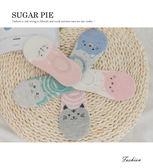 襪子 韓版可愛大貓咪短襪 Sugarpie #003