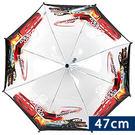 雨傘 韓國BABYPRINCE 47公分兒童透視安全雨傘 汽車總動員 閃電麥坤 黑銀 雨具 迪士尼