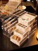 首飾收納盒家用梳妝台飾品展示架手錬耳環收納架多層防塵首飾盒