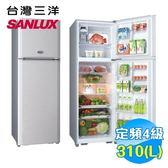 三洋 SANYO 310L 雙門電冰箱 SR-A310B