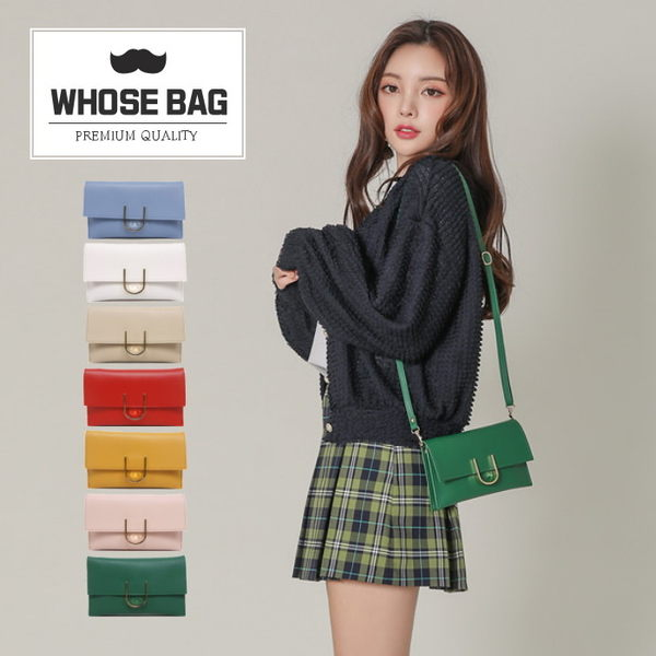 【WHOSE BAG】韓國嚴選U簡約迷你側背包 NO.GD036