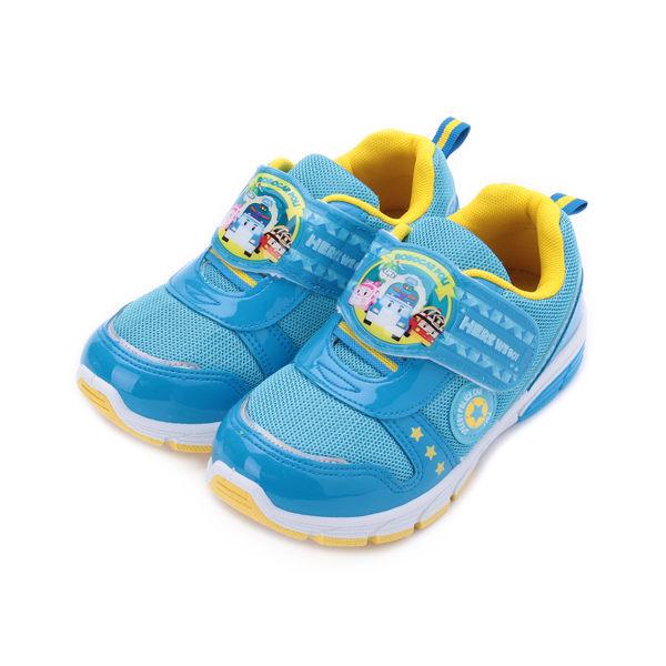 救援小英雄 POLI波力電燈運動鞋 藍 POKX81216 中大童鞋 鞋全家福