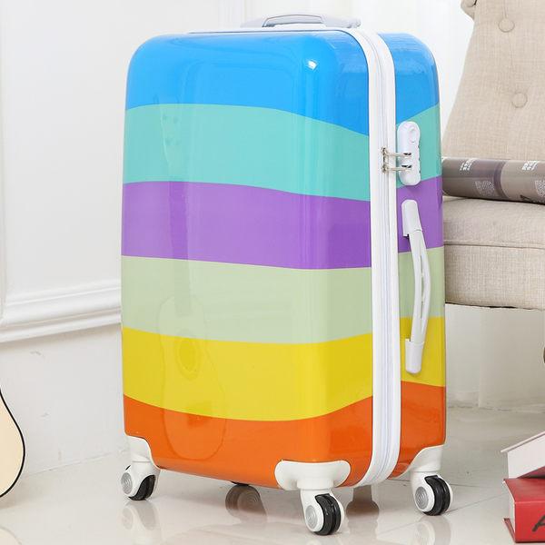行李箱 卡通行李箱萬向輪兒童登機拉桿箱旅行男箱包20寸24寸學生密碼箱女T 雙12鉅惠