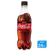 可口可樂零卡600mlx24入/箱【愛買】