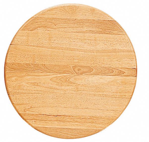 【 IS空間美學】2.5尺圓實木桌面(兩款尺寸可選)