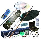魚竿套裝竹山組合漁具套裝全套釣魚竿台釣竿碳素手竿垂釣用品 igo
