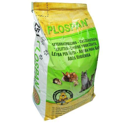 【 ZOO寵物樂園 】PLOSPAN》荷蘭維特環保木屑貓砂25L(杉木砂、松木砂)