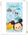 日本製 迪士尼 TSUM TSUM 色鉛筆12色 533247