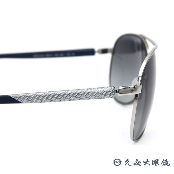 Prada 太陽眼鏡 飛官款 墨鏡 SPS51O 1BC-3M1 銀 久必大眼鏡