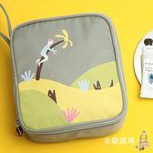 化妝包旅行包分層化妝袋可愛少女小方包大容量多功能簡約便攜小號組合化妝包