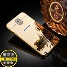 88柑仔店--三星Glaxy Note5手機保護套殼 note5金屬邊框 鏡面背板後蓋奢華