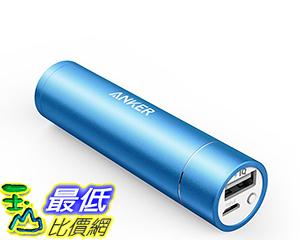 [106美國直購] Anker PowerCore+ mini 3350mAh Lipstick-Sized Portable Charger Blue 便攜式充電器