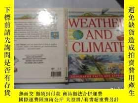 二手書博民逛書店Weather罕見and climate:天氣和氣候Y200392