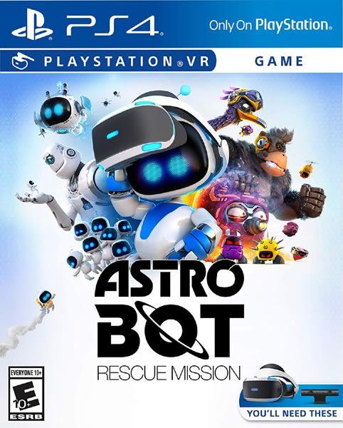 PS4 太空機器人:救援任務(美版代購)