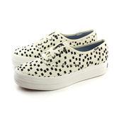 Keds TRIPLE RETRO GEO CREAM 布鞋 厚底 休閒 方塊 奶油白 米色 女鞋 9163W131873 no219