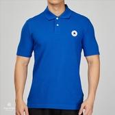 Converse Core Polo 男子 藍色 休閒 運動 短袖上衣 10005631-A03