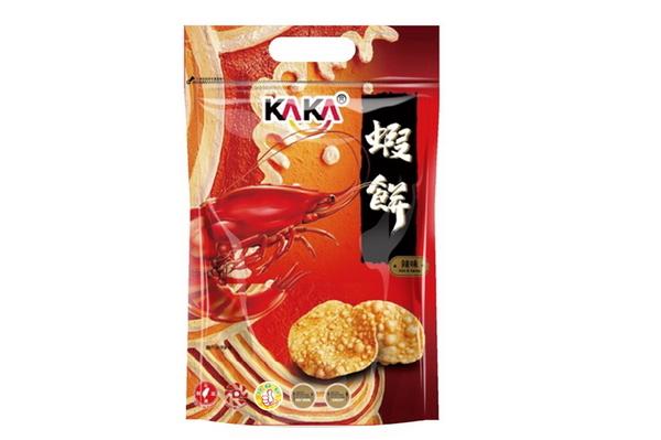 KAKA蝦餅-辣味80g*1包【合迷雅好物超級商城】