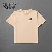 Queen Shop【01038238】親子系列 富士山印花T恤 1/2/3/4*現+預*