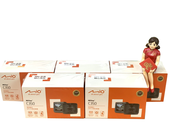 MIO MIVUE C350【送16G+原廠支架】測速提示 行車記錄器/SONY 感光