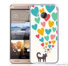 ✿ 3C膜露露 ✿【好多愛心*立體浮雕硬殼】HTC ONE ME手機殼 手機套 保護套 保護殼