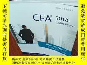 二手書博民逛書店CFA2018Exam罕見Prep 3Y275748 請看圖片