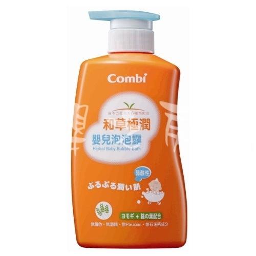 【嬰之房】Combi康貝 和草極潤嬰兒泡泡露500ml