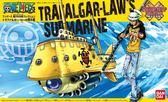 尼德斯Nydus~* 日本正版 海賊王 紅心海賊團 羅 海賊船 淺水艇 組裝模型 裝飾 公仔 全長約130mm