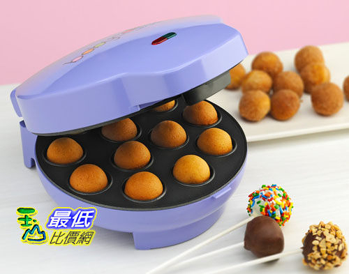 [104美國直購] Babycakes CP-12 Cake Pop Maker,12 Cake Pop Capacity,Purple棒棒糖蛋糕機 B0050JRZR2