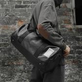 旅行包男女出差手提袋大容量旅遊包行李包防水運動健身包男潮 潮流衣舍