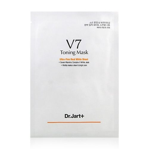 韓國 Dr.Jart+ V7維他命肌光嫩白面膜 單片入 (30g)【BG Shop】效期:2020.07.30
