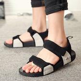 涼鞋男士情侶女韓版休閒沙灘鞋