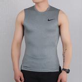 NIKE PRO DRY 男裝 背心 慢跑 緊身 訓練 排汗 灰【運動世界】BV5601-085