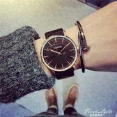 情侶手錶時尚流休閒復古大氣超薄 果果輕時尚NMS