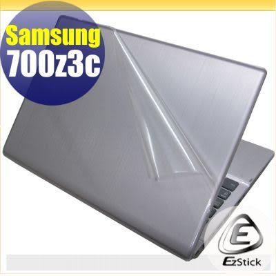 【EZstick】Samsung Series 7 NP700Z3C 系列專用機身保護貼(含上蓋、鍵盤週圍)DIY 包膜