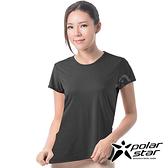 PolarStar 女 排汗快乾T恤『黑』P17140 吸濕 排汗 運動上衣 女生上衣 居家上衣 短袖