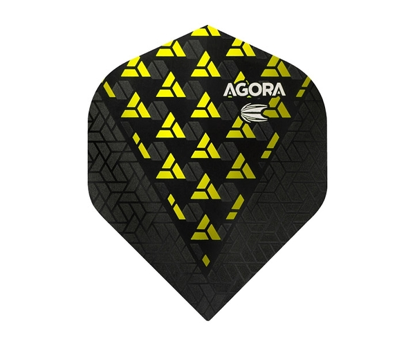 【TARGET】VISION ULTRA GHOST STANDARD AGORA Yellow 332530 鏢翼 DARTS