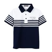 『小鱷魚童裝』條紋POLO衫(10號~18號)535101