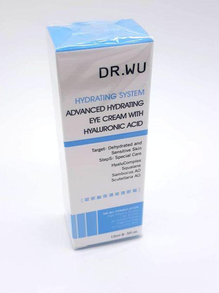DR.WU 玻尿酸保濕修復眼霜 15ml 效期2021