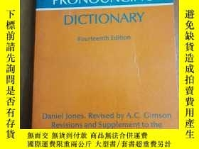 二手書博民逛書店ENGLISH罕見PRONOUNCING DICTIONARY: